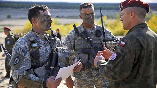 Polonia y Rumanía llevan a cabo ejercicios militares con EE.UU.