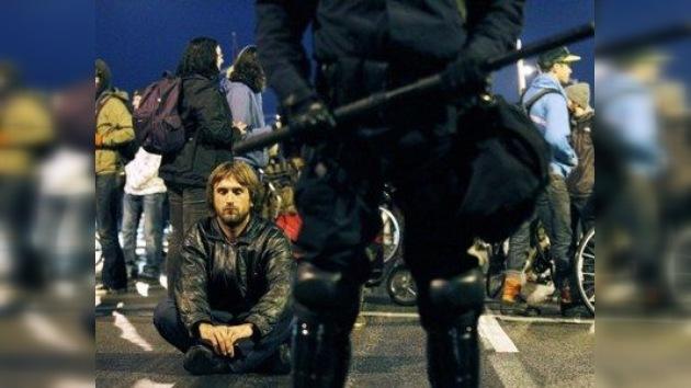 La 'ocupación' de la costa oeste de EE. UU. comienza con arrestos