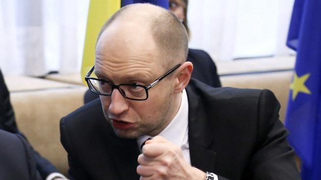 Primer ministro de Ucrania ordena prepararse para el cese de suministro del gas ruso