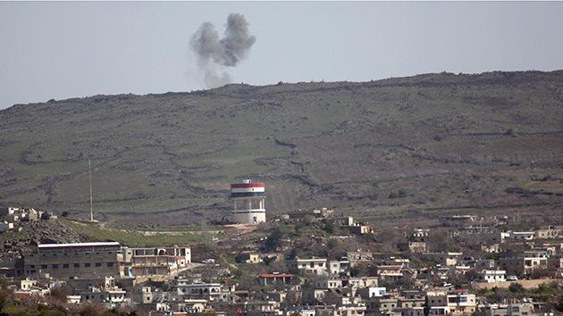 Israel dispara misiles contra Siria