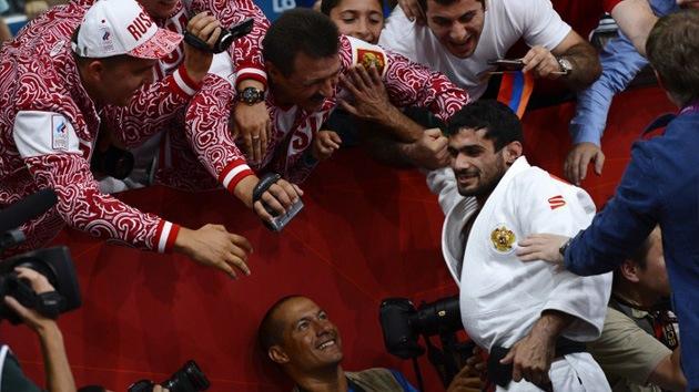 Londres 2012: el yudoca Arsén Galstyán consigue la primera medalla de oro para Rusia