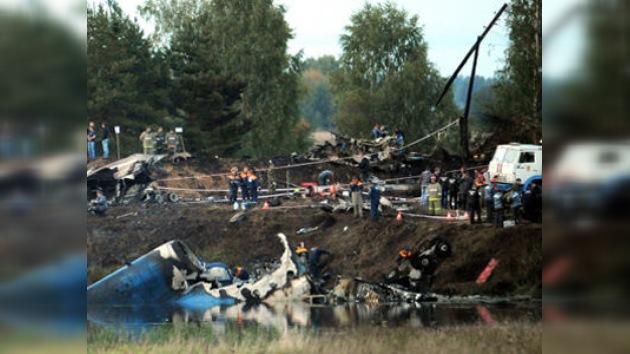 43 muertos en siniestro del avión que trasladaba al equipo de hockey Lokomotiv