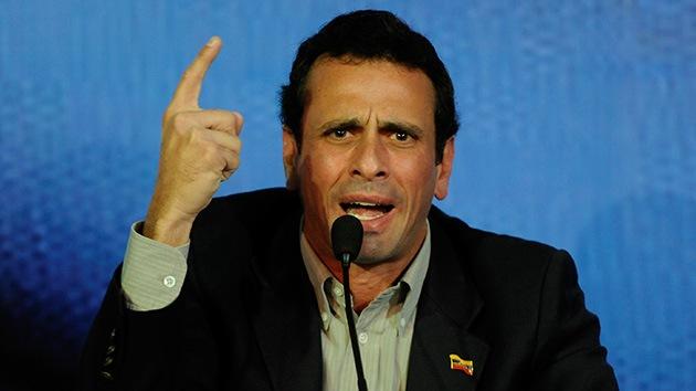 """""""La ultraderecha de EE.UU. planea atentar contra el opositor Capriles"""""""