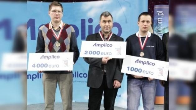 Vladimir Malájov, campeón europeo de ajedrez rápido
