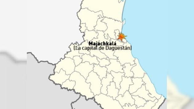 Cuatro heridos en una explosión en Majachkalá, capital de Daguestán