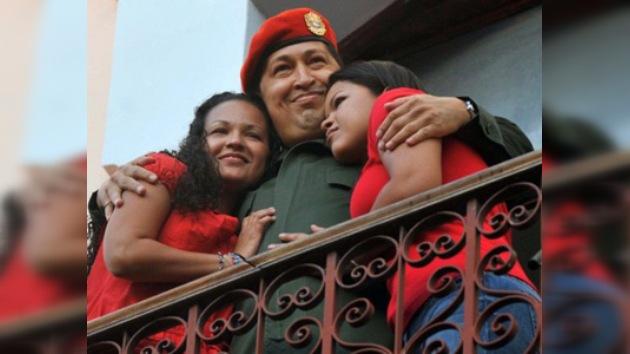 Chávez se dirige a la nación desde el Palacio de Miraflores