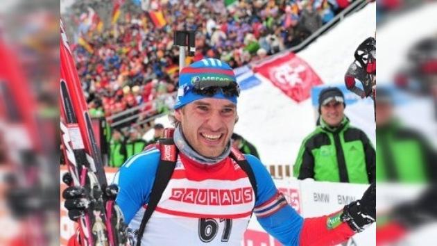 Oro, plata y bronce para Rusia en los mundiales de biatlón y esquí de fondo