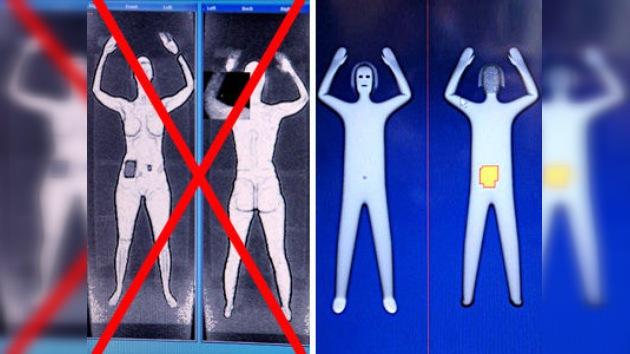 Los escáneres de los aeropuertos estadounidenses ya no 'desnudarán' a los pasajeros