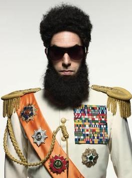 Sacha Cohen se mete a dictador