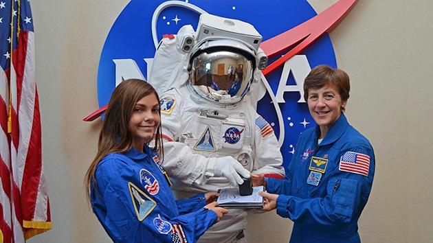 Una niña estadounidense de 13 años se postula como primera colonizadora de Marte