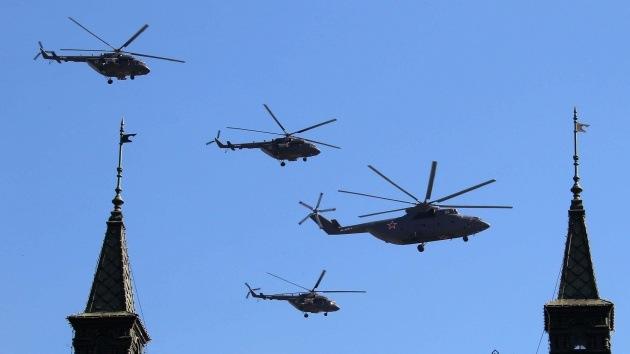 Fotos: Los cinco mejores helicópteros militares en combate y el servicio civil