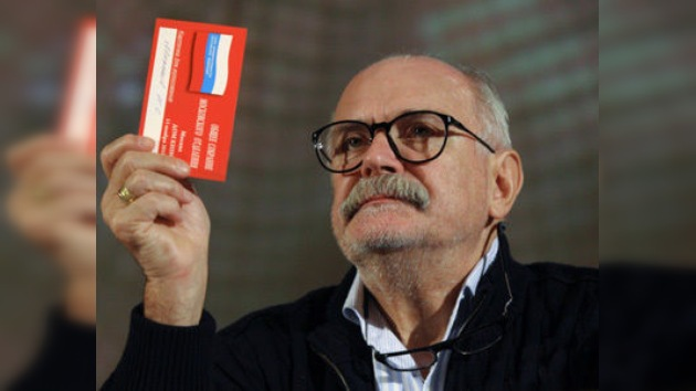 El famoso cineasta ruso Mijalkov ve el futuro del arte en América Latina