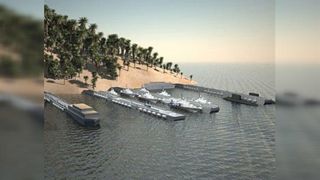 Llegan a San Petersburgo los puertos de quita y pon