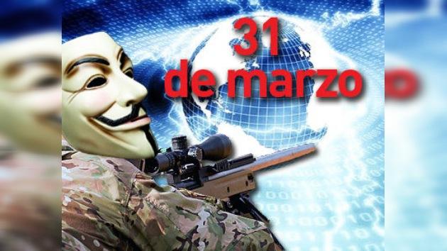 Anonymous dejará sin Internet a todo el planeta el 31 de marzo
