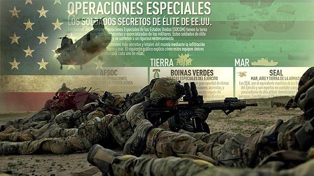 Infografía: Así trabajan los soldados secretos de élite de EE.UU.