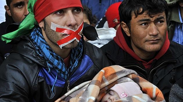 Amnistía Internacional: el trato a los inmigrantes en Grecia es vergonzoso