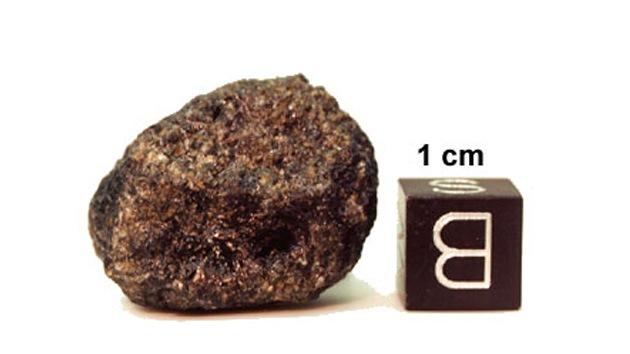 Gran cantidad de boro en un bólido de Marte evidencia su capacidad de engendrar vida