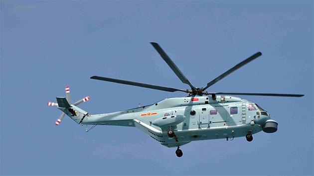 China ensaya su nuevo helicóptero antisubmarinos