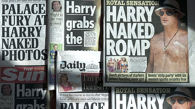 La 'última tentación' del príncipe Harry: 10 millones de dólares para filmar una porno