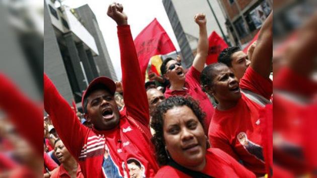 Partidarios de Chávez recuerdan el fallido golpe de Estado en abril de 2002