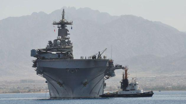EE.UU. envía buques a las costas egipcias pero afirma que no intervendrá