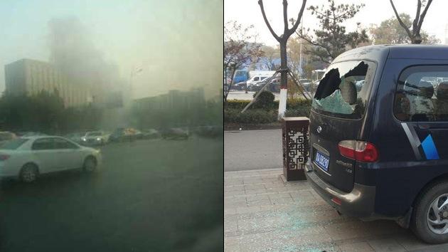 China: Una serie de explosiones en sede del Partido Comunista deja al menos un muerto