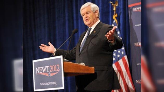 Gingrich propone actuar de manera encubierta para derrocar a Al Assad