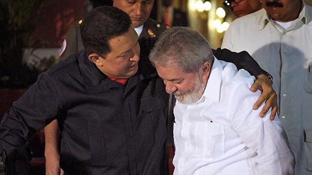 Lula a Chávez: Tu victoria será nuestra victoria