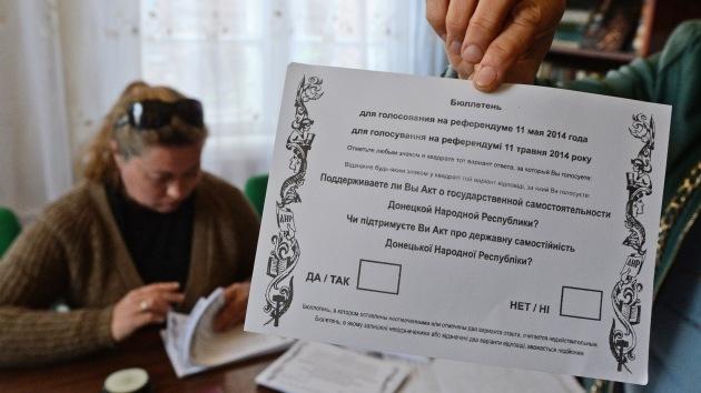 Kiev: Operación especial continuará independientemente de la decisión de Donetsk sobre el referendo