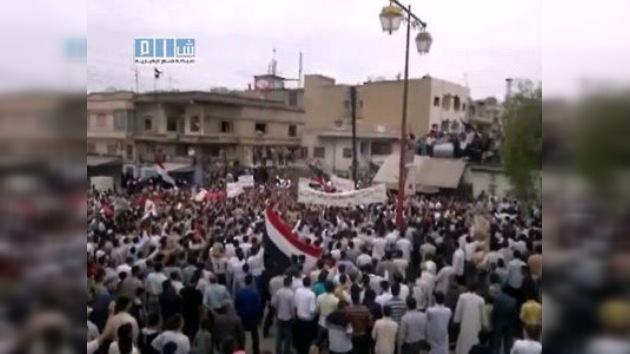 Más de 40 muertos en Siria durante la última jornada de protestas antigubernamentales