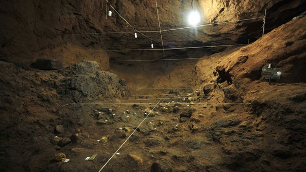 Fotos: Antiguas cámaras funerarias halladas bajo un templo en Teotihuacán, México