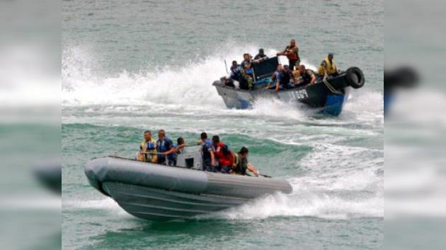 Rescatadores rescatados: encuentran la lancha militar con 29 personas a bordo en Nicaragüa