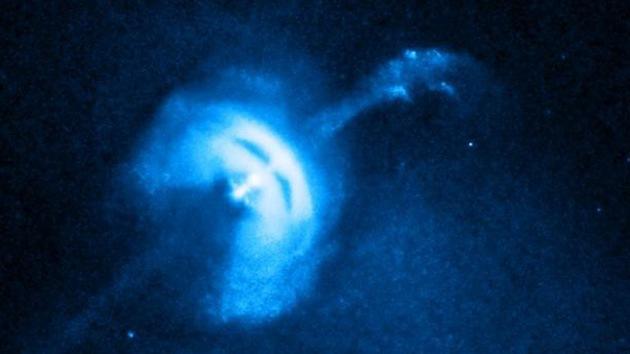 Video: Estrella de neutrones con aspecto del fantasma de la ópera