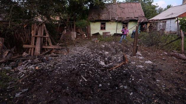 En la ciudad ucraniana de Górlovka decenas de civiles mueren por fuego del Ejército