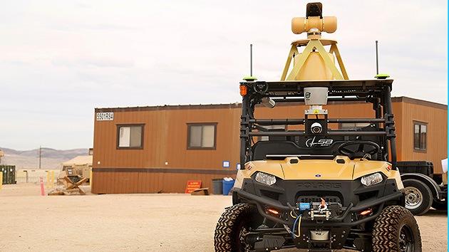 Los marines de EE.UU. defenderán sus bases con 'robocops'