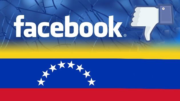 """Venezuela insta a abandonar Facebook y no """"trabajar gratis para la CIA"""""""