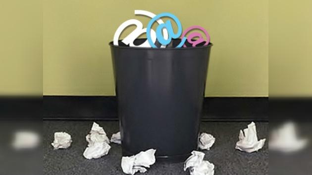 En EE. UU. el uso del correo electrónico se redujo