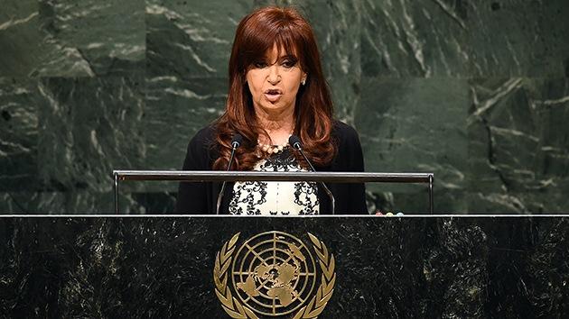 """Cristina Fernández: """"Los que desestabilizan la economía también son terroristas"""""""
