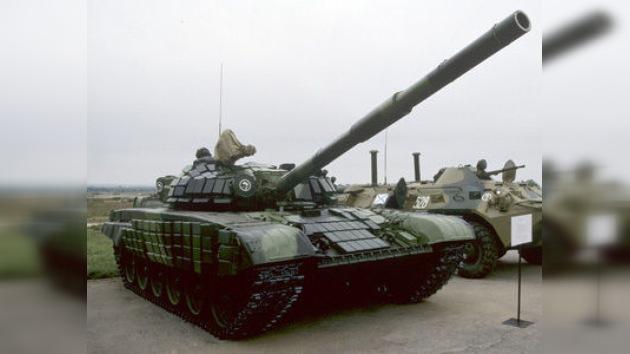 Tanques T-72 y equipamiento militar procedente de Rusia llega a Venezuela