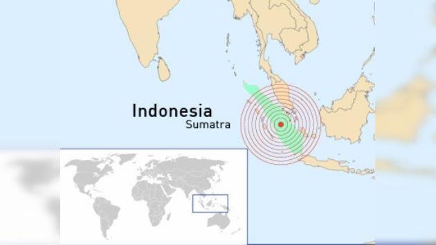 Un sismo de 6,1 grados de magnitud sacude la isla indonesia de Sumatra