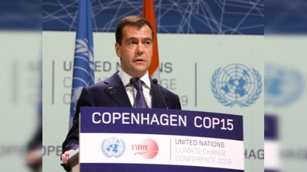 Medvédev exhorta a modernizar el mecanismo de cooperación climática