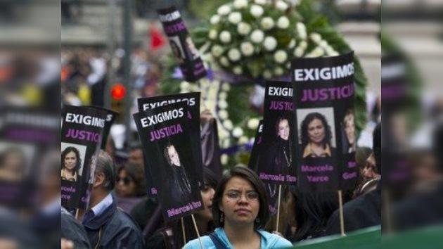 'El peor crimen es el silencio': Los periodistas mexicanos marchan contra la violencia