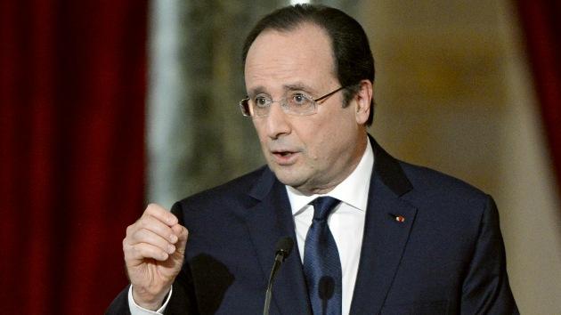 Hollande: Francia podría atacar de forma unilateral a Siria
