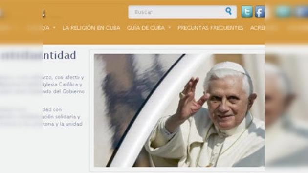 Cuba lanza un sitio web sobre la visita del Papa a la isla