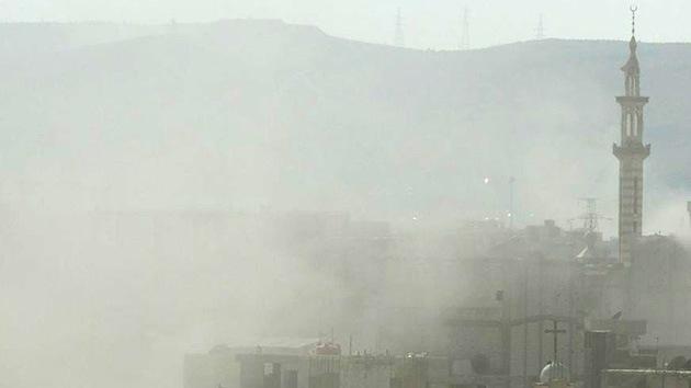 Al menos dos proyectiles explotan cerca del hotel de Damasco donde se alojan los inspectores la ONU