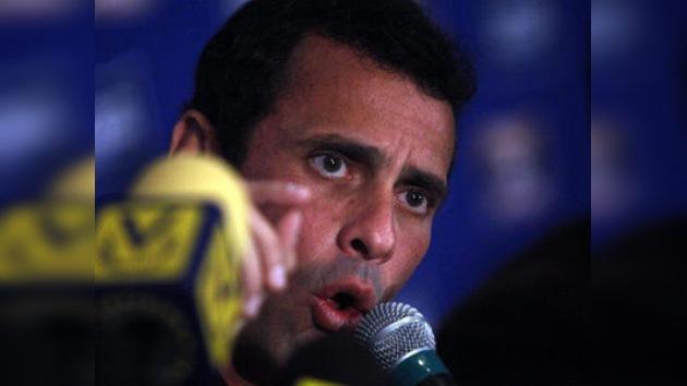 Chávez pide protección para evitar un atentado contra el líder opositor