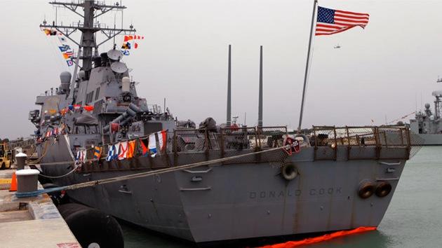 EE.UU. despliega otro destructor e infantes de Marina en el mar Negro