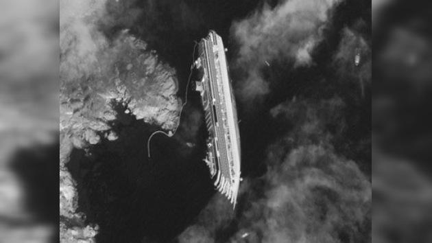 El capitán del crucero italiano naufragado admite un error de navegación