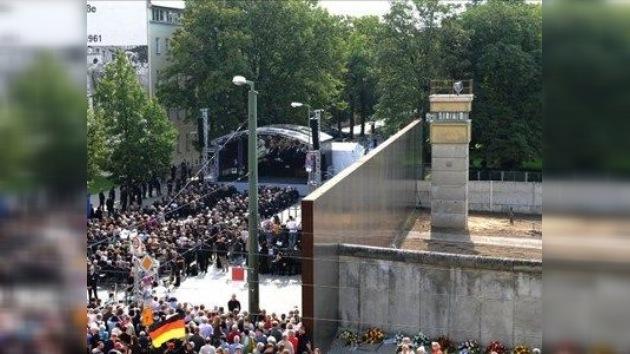 El muro de Berlín, una barrera de 30 años de longitud