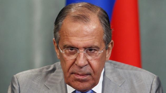 Lavrov: La postura de la UE respecto al South Stream dice que quiere castigar a Rusia